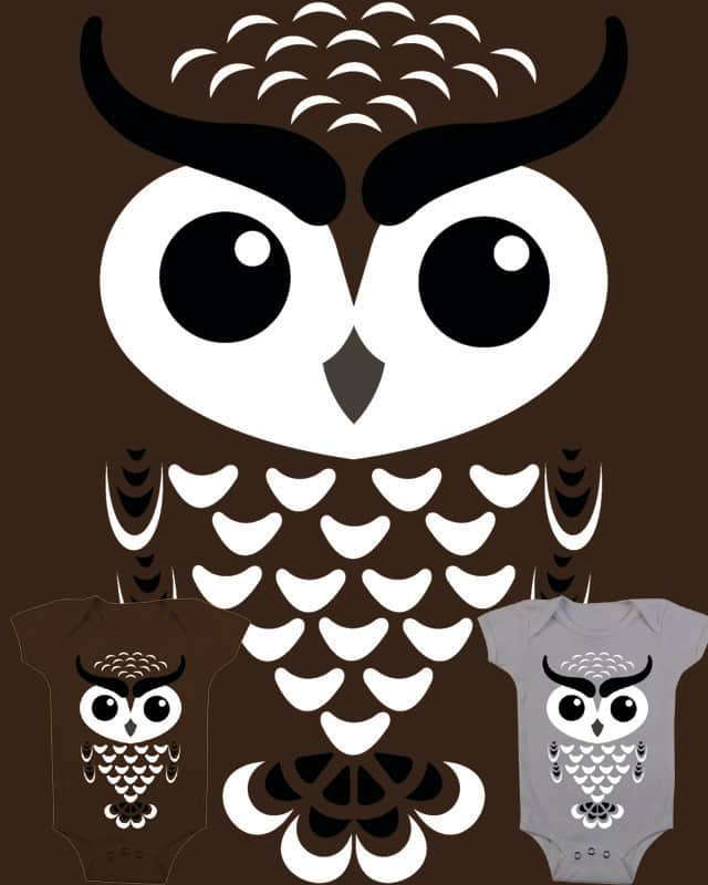 Little Owl by Verreaux on Threadless