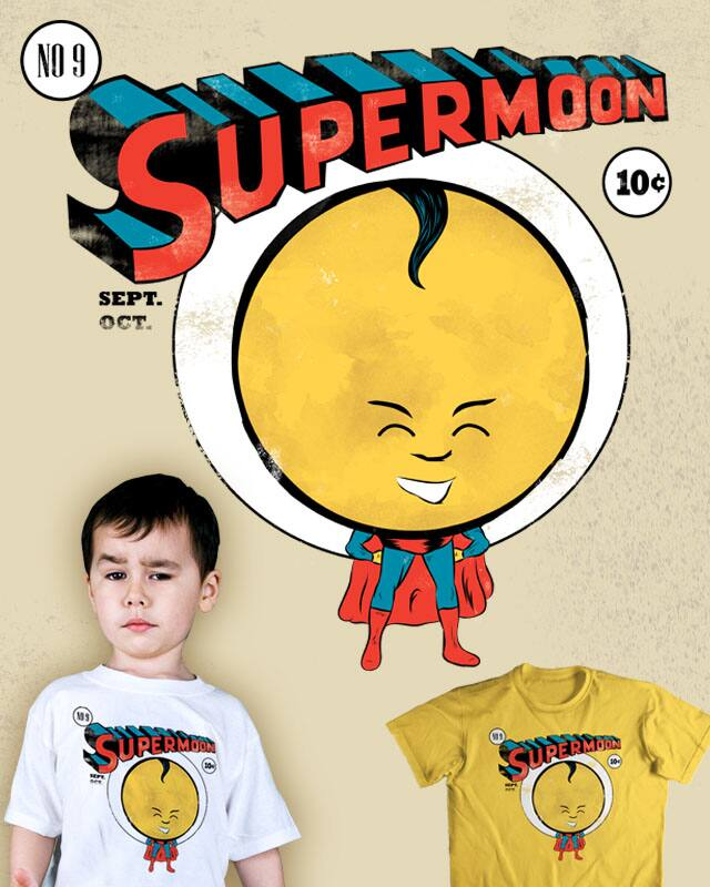 Supermoon by mainial on Threadless