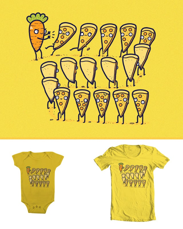 Pizza Dominoes by randyotter3000 on Threadless