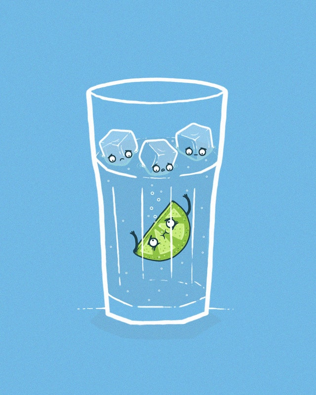 In the drink by randyotter3000 on Threadless