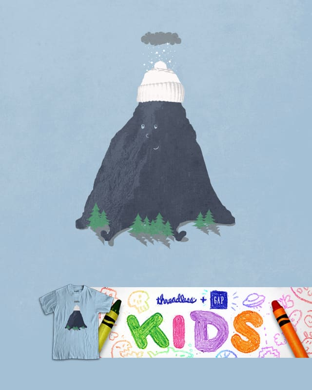 lil snow capped mountain by jerbing33 on Threadless