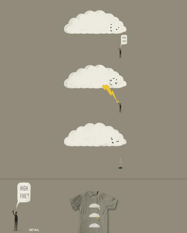 Cloud High Five by murraymullet on Threadless