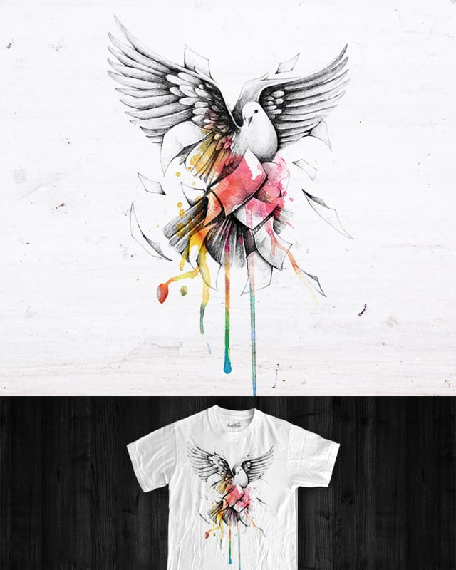 The Messenger by INDZ on Threadless