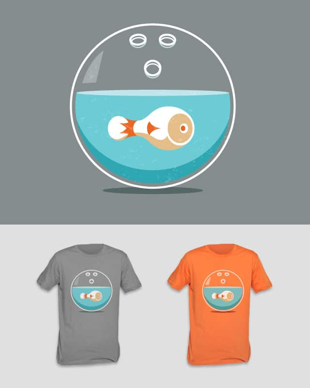 Fish Bowl by Lazy Lab on Threadless