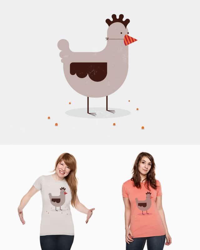 Hen Party by Lazy Lab on Threadless