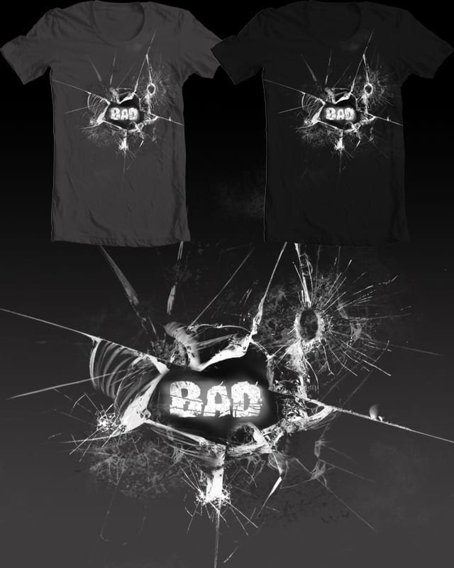 Breaking by Jordan_Bender on Threadless
