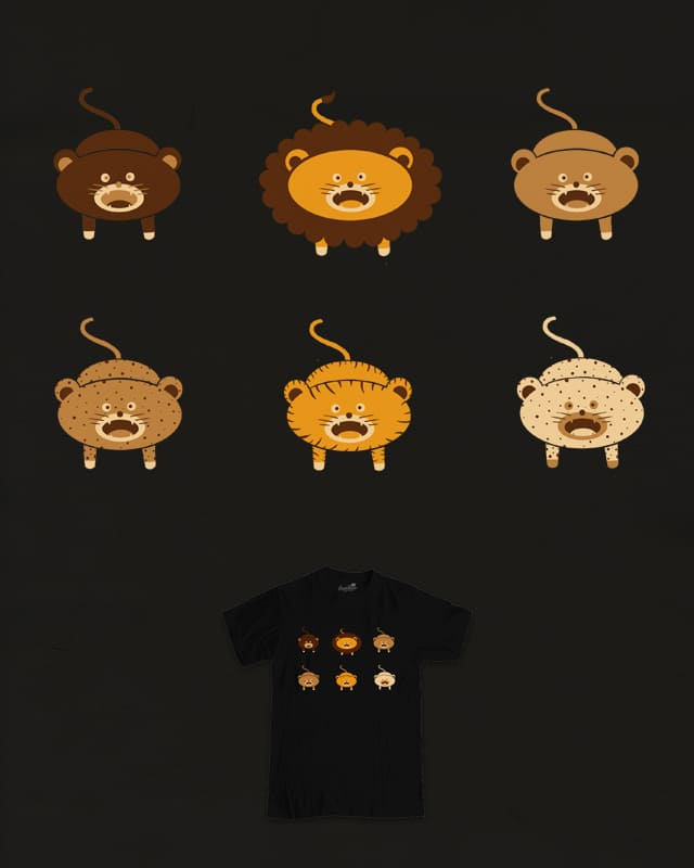 Cat Family by messing on Threadless
