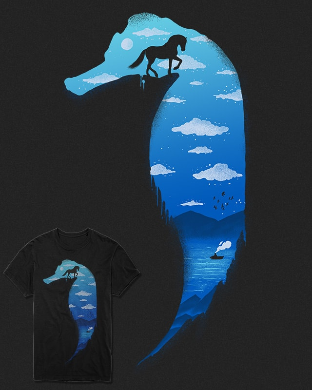 Seahorse by fathi on Threadless