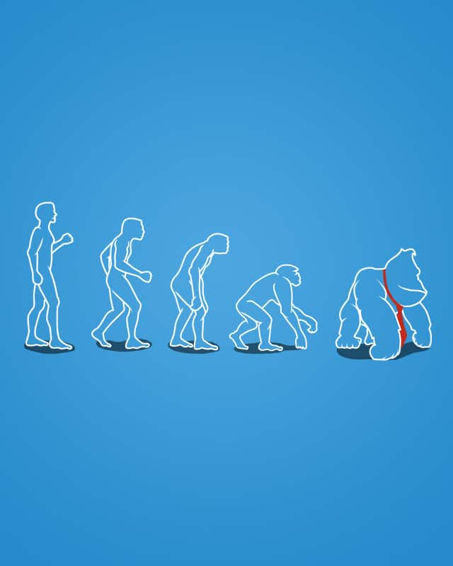 Devolution by Narutal on Threadless