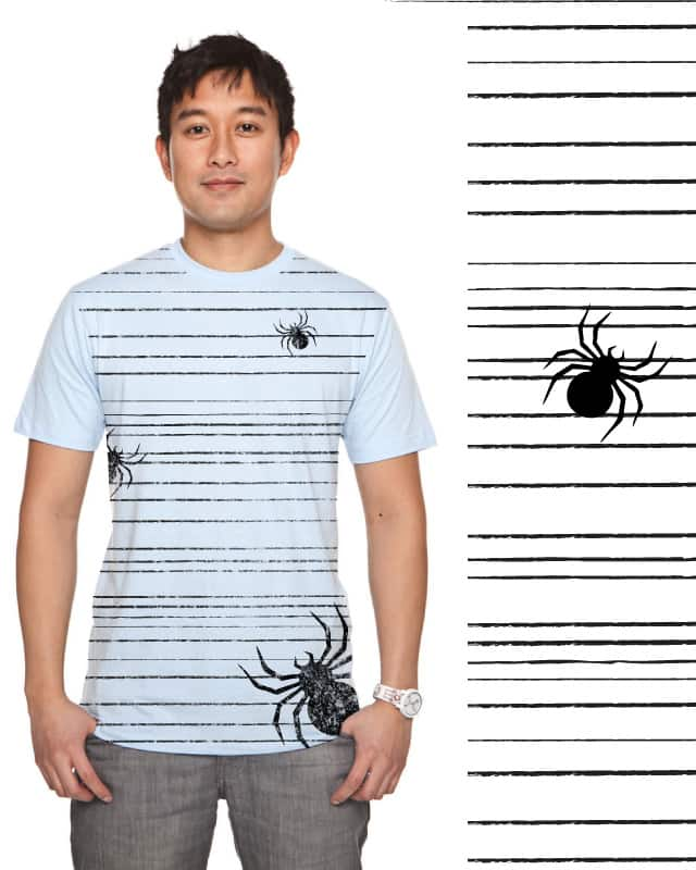 itsy bitsy spider by ajkan on Threadless