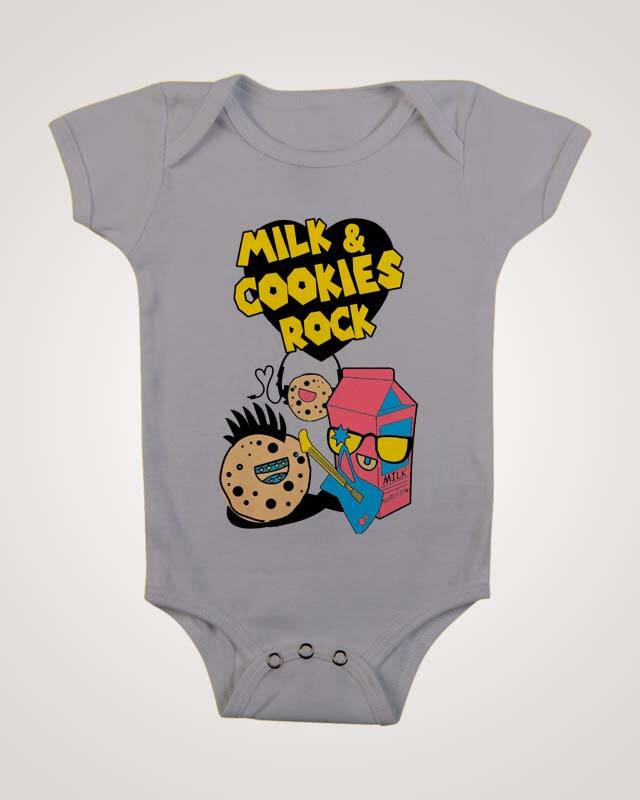 milk and cookies rock ! by Hinatronix on Threadless