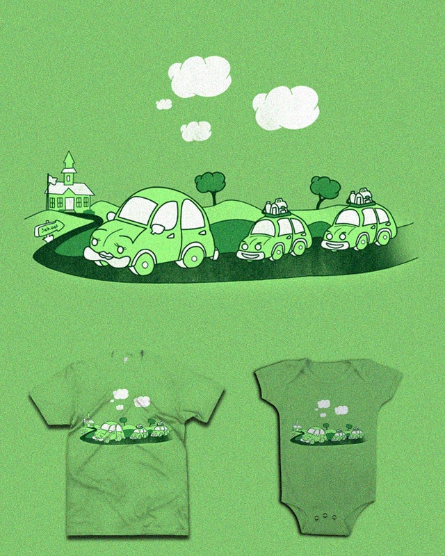 School convoy by bandy on Threadless