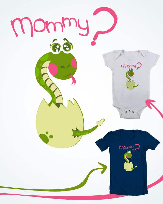 Have you seen his mommy? by Karmagar on Threadless