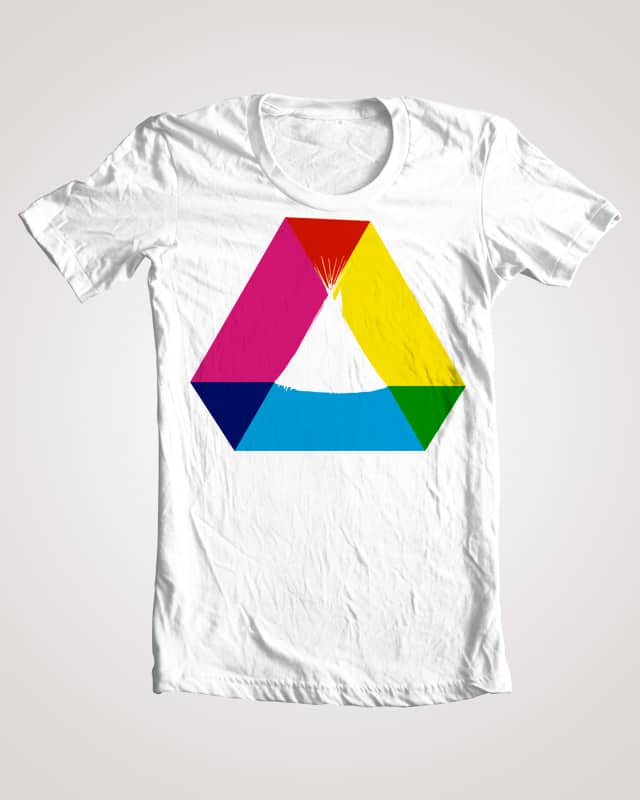 CMY Tipi by coolguyrando on Threadless