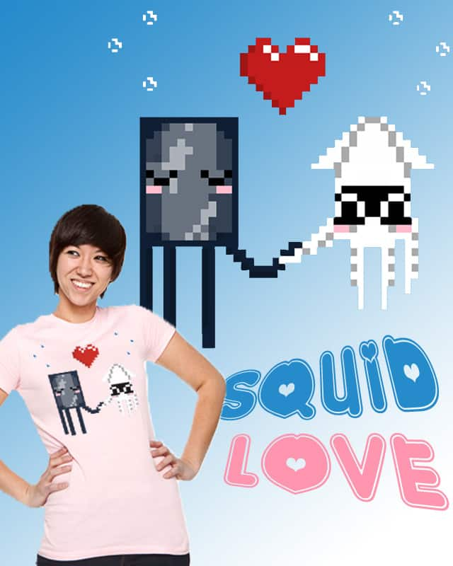 Squid Love by janitorjoey on Threadless