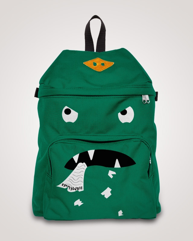 My School Bag Ate My Homework! by aliciaFUCK on Threadless