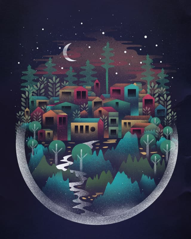 Dream Town by dandingeroz on Threadless