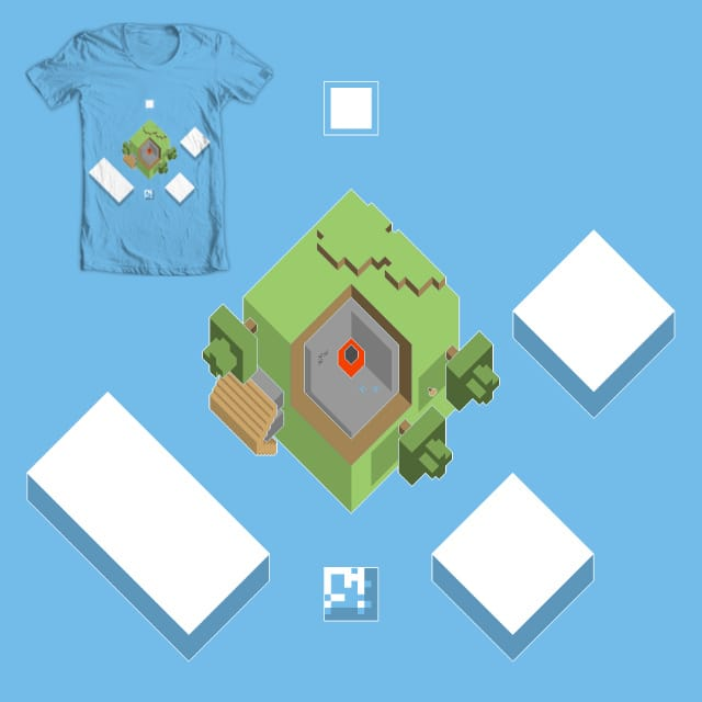 My World Is Square by Onyx05 on Threadless