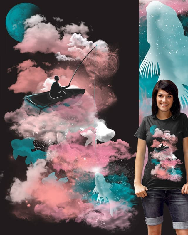 GONE FISHING by kimkong1014 on Threadless