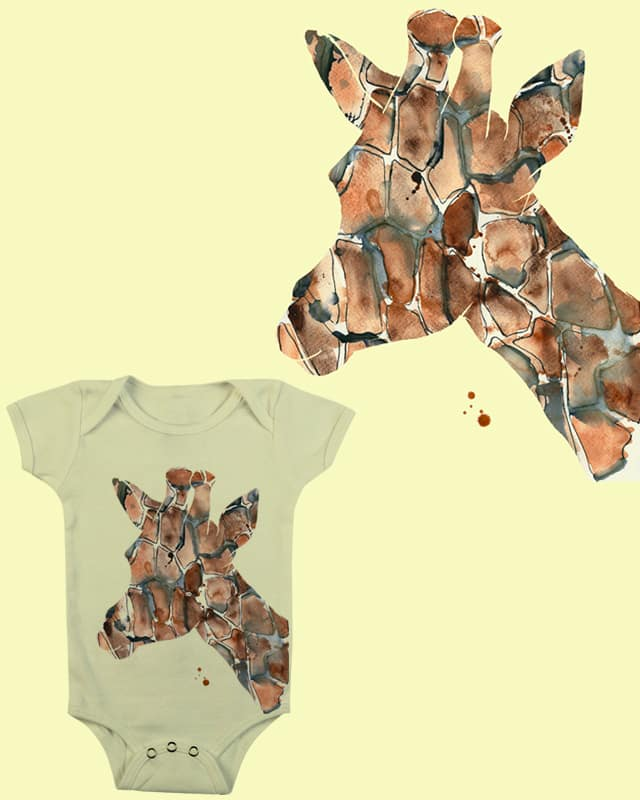 Giraffe by laurairwinart on Threadless