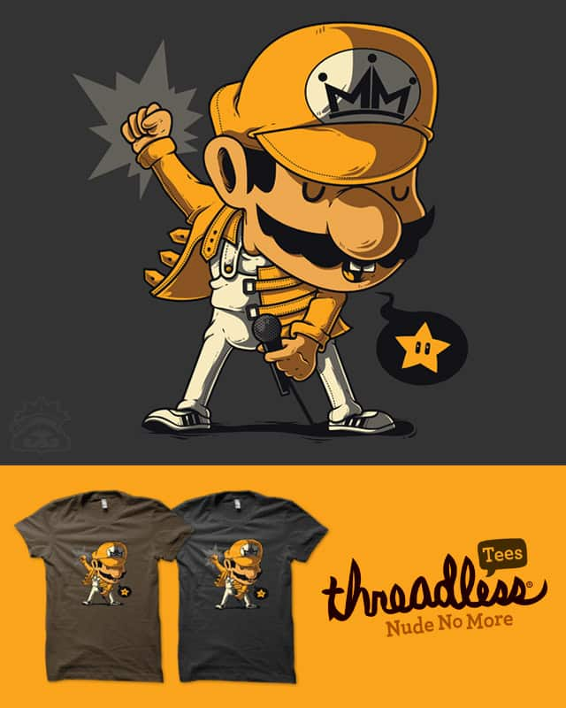 MARIO MERCURY by rua_bloodrust on Threadless