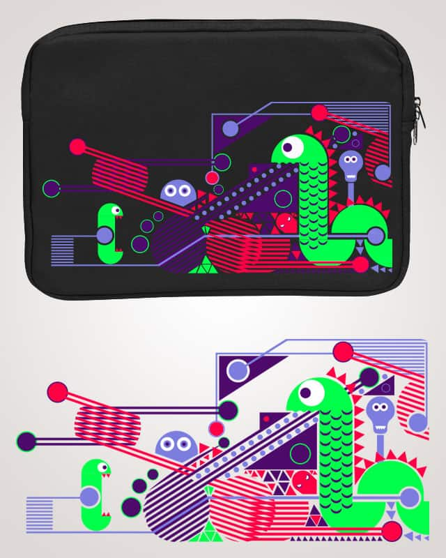 Electric nessy by ijmccallum on Threadless