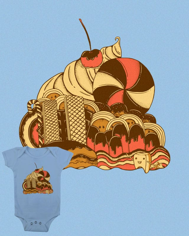 Sweet Temptation by monochromefrog on Threadless