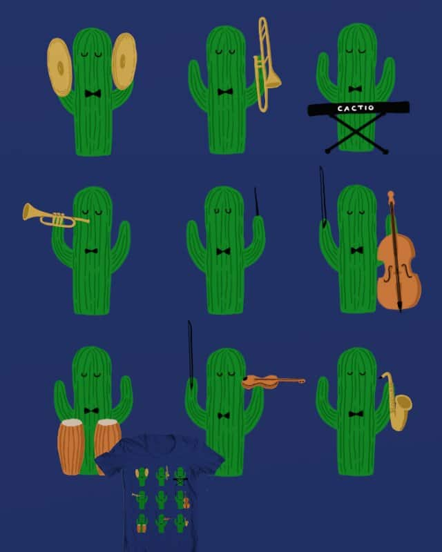 The desert philharmonic orchestra by P0ckets on Threadless
