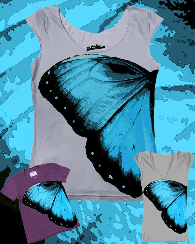 Butterfly tee by Sz.J.design on Threadless