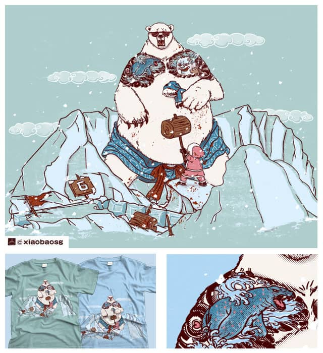 Ice terror by xiaobaosg on Threadless