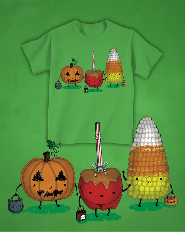 Tricky Treats by TheInfamousBaka on Threadless