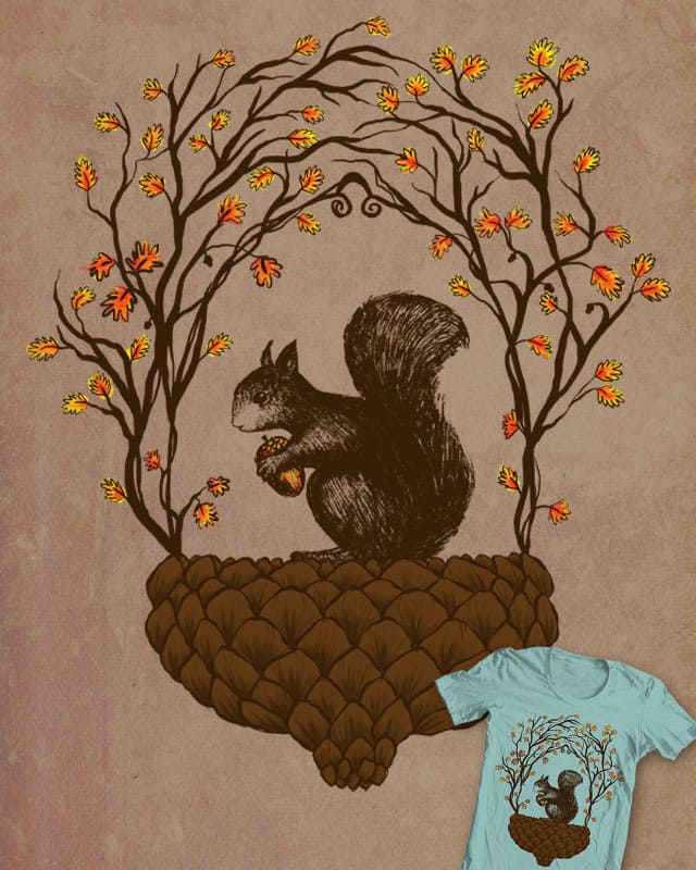 Once a upon an Acorn by ainz_o on Threadless