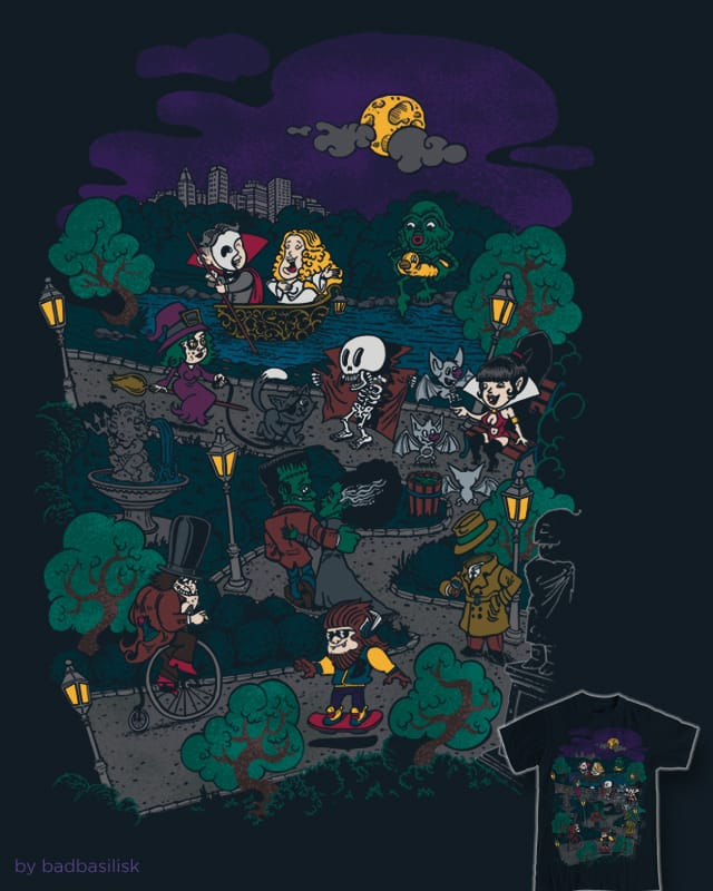 a midnight walk in the park by badbasilisk on Threadless