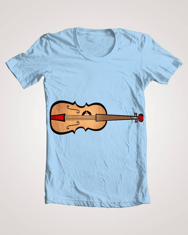 Lovebirds on strings by feliciasimion_1 on Threadless