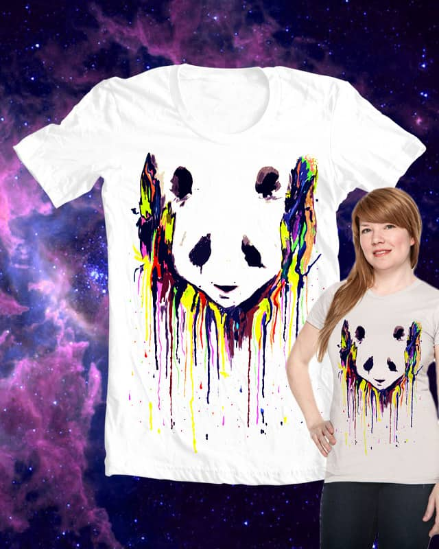 burial panda by rodrigo carrasco on Threadless