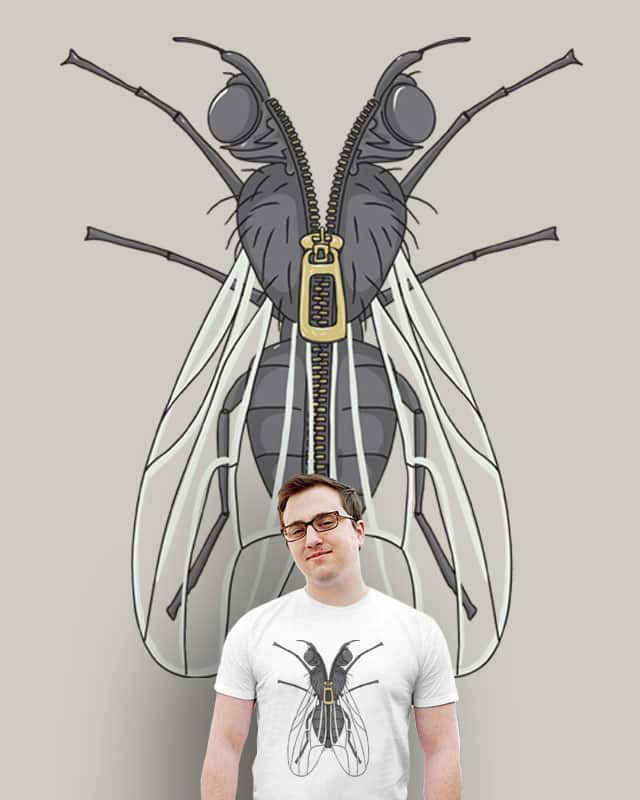 Unzipped Fly by JonBurgessDesign on Threadless