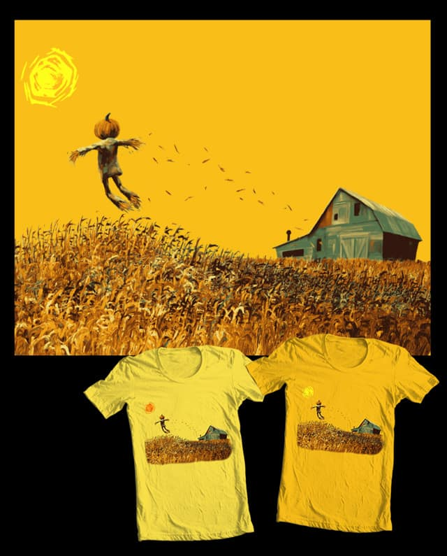 the Corn King by James Ortega on Threadless