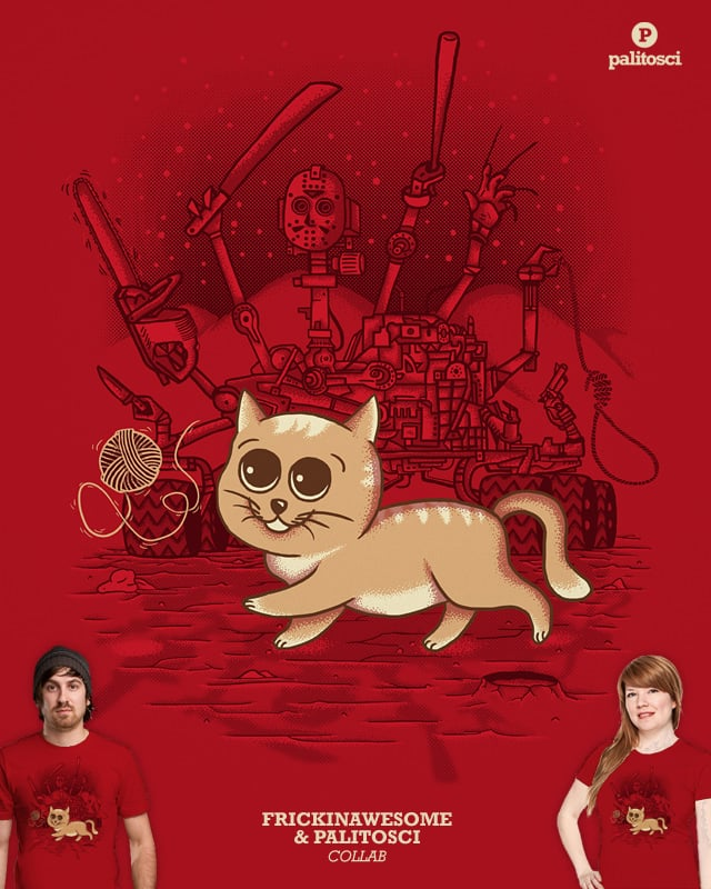Curiosity Rover: Kitty Killer by FRICKINAWESOME on Threadless