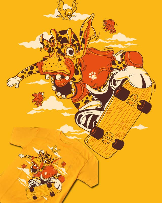 jump to the sky by Methlop39 on Threadless