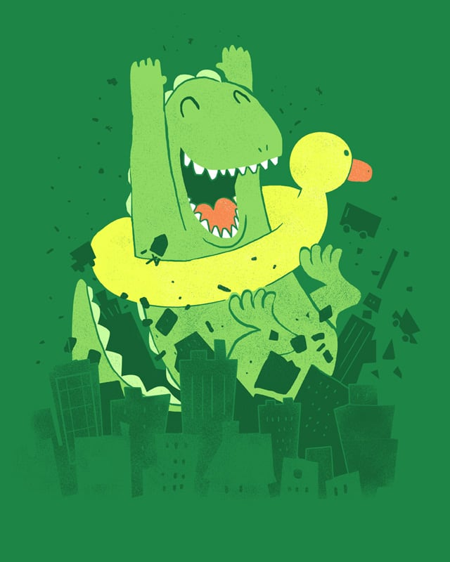 Cannonball!!! by queenmob on Threadless