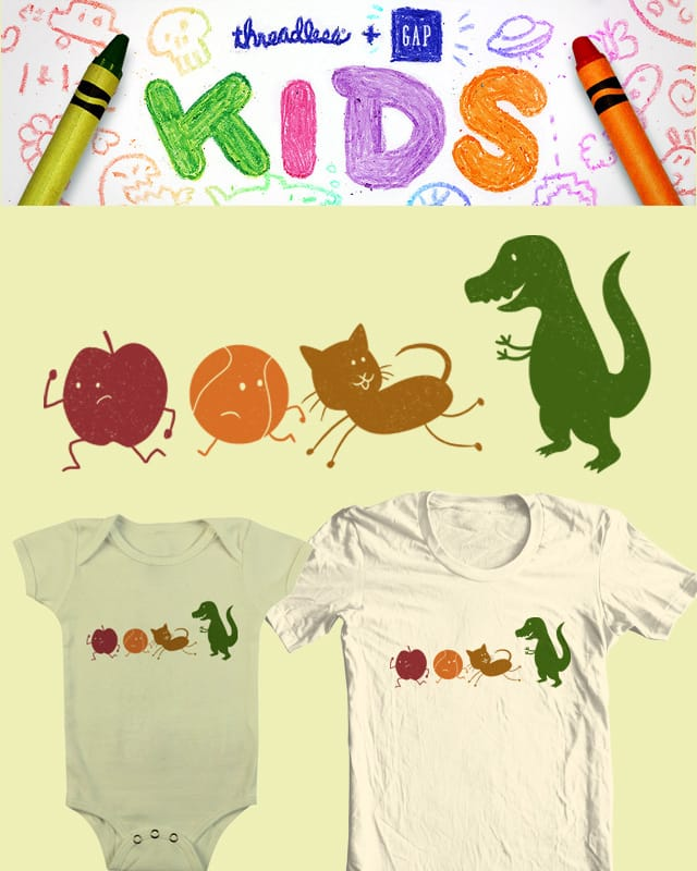 Alphabet Buddies by babitchun on Threadless