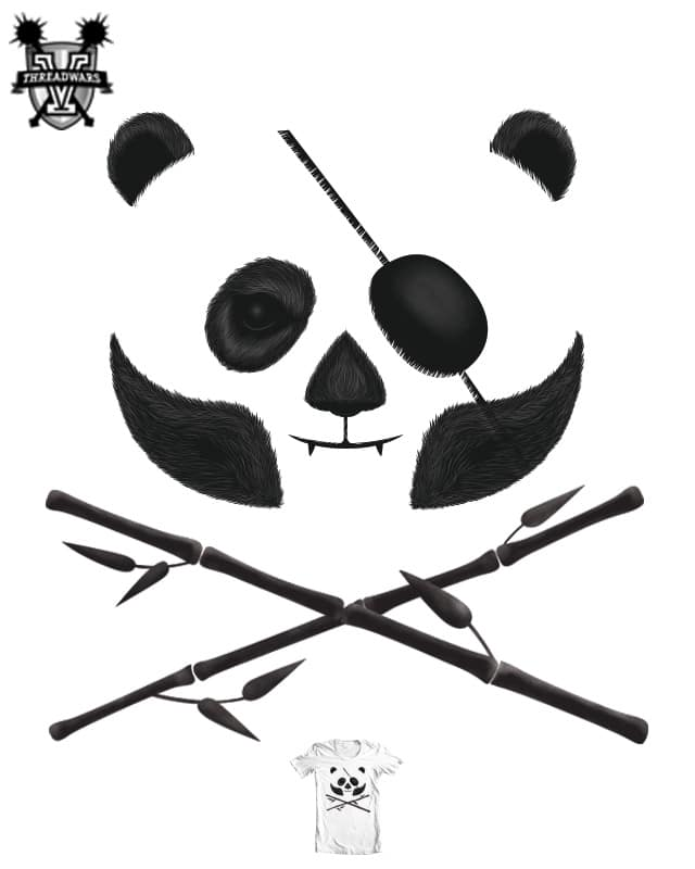 Panda Pirate by Wharton on Threadless