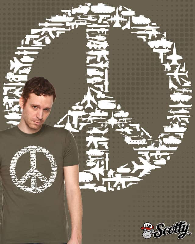 War & Peace by iamscotty on Threadless