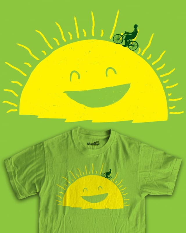 Walking on Sunshine by RL76 on Threadless