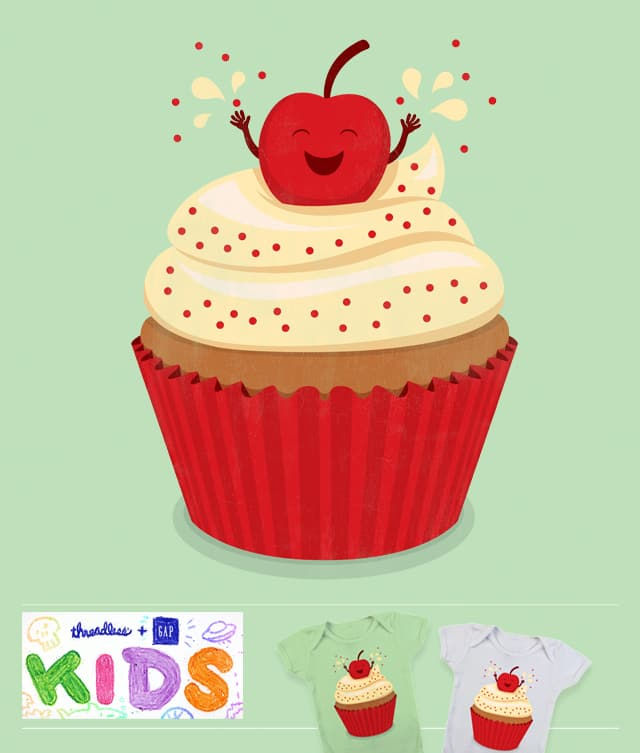 Cheery Cherry Cupcake by Malhat06 on Threadless