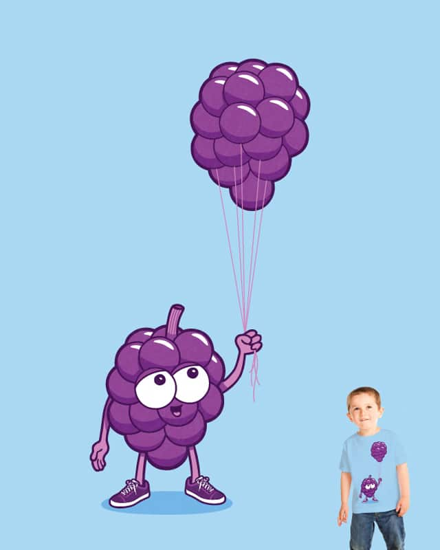 Grapes With Balloons by davidfromdallas on Threadless