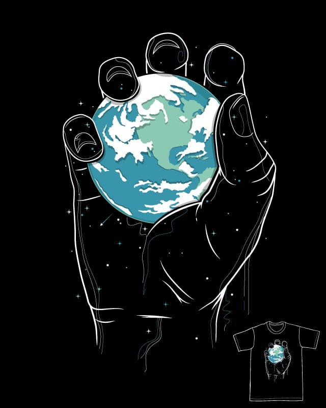 The world in the palm of my hand by 3rick05 on Threadless