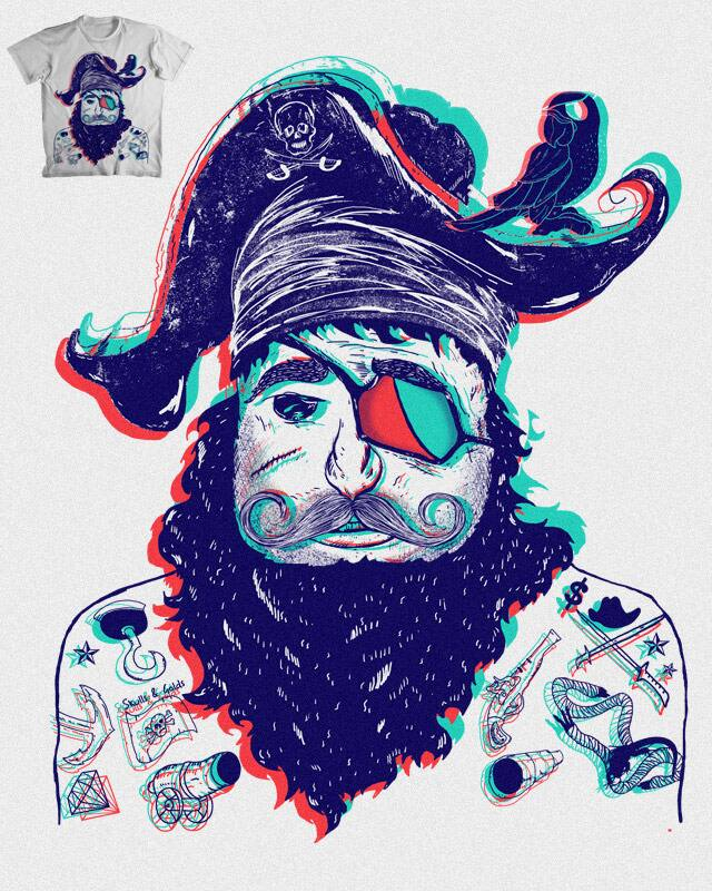 Modern Pirate View by shesmatilda on Threadless