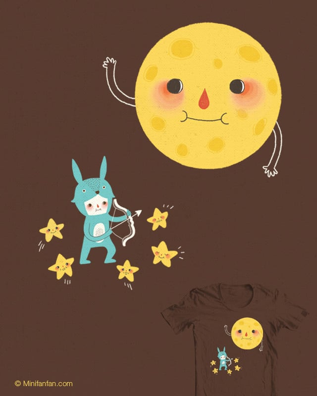Shoot for the moon by minifanfan on Threadless