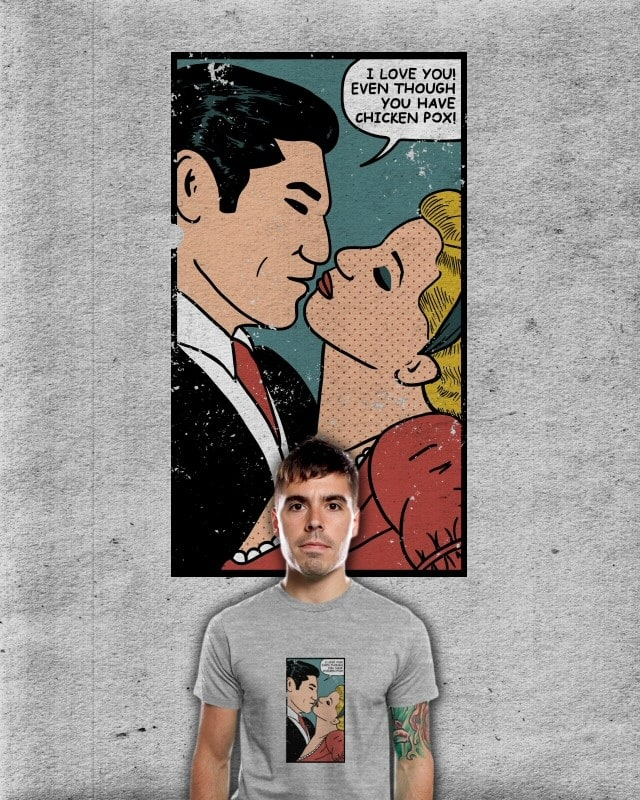 Comic sincerity by nyenyerejunior on Threadless